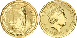 World Coins - Coin, Great Britain, Elizabeth II, 10 Pounds, 1/10 Oz, 2020, , Gold