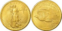 Ancient Coins - Coin, United States, Saint-Gaudens, $20, Double Eagle, 1907, U.S. Mint