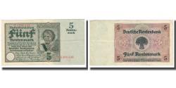 World Coins - Banknote, Germany, 5 Rentenmark, 1923, 1923-10-15, KM:169, EF(40-45)