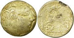 Coin, Caletes, Hemistater, Unpublished, VF(30-35), Gold, RIC:98var