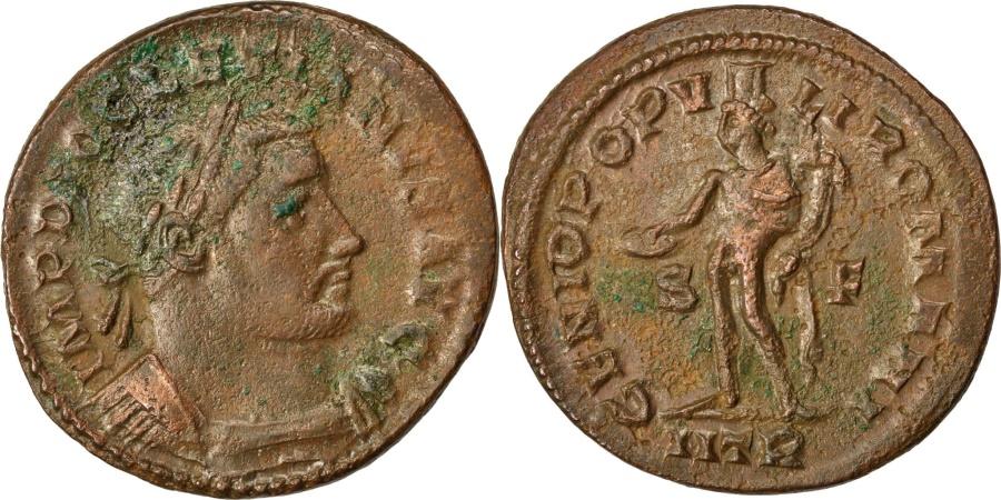 Ancient Coins - Diocletian, Follis, , Copper, Cohen #87, 9.70