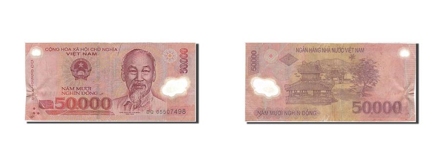 World Coins - Viet Nam, 50,000 Dng, 2005, KM #121c, VF(20-25), DQ 05507498