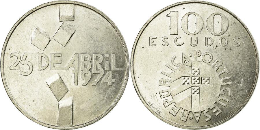 World Coins - Coin, Portugal, 100 Escudos, 1976, Lisbon, , Silver, KM:603