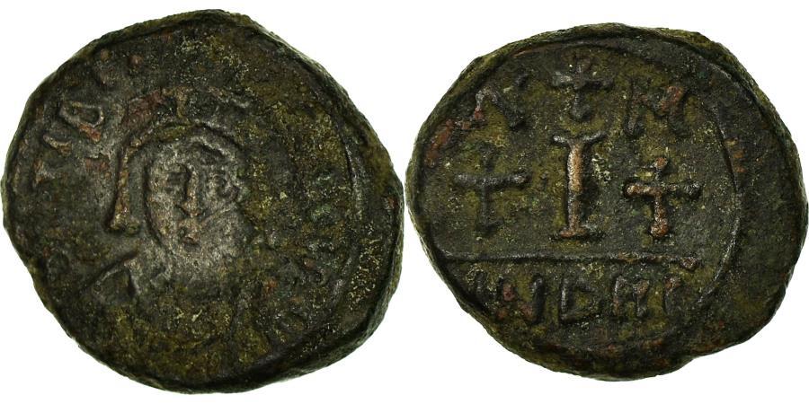 Ancient Coins - Coin, Maurice Tiberius, Decanummium, 585, Carthage, Rare, , Copper
