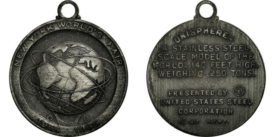 US Coins - United States of America, Medal, New-York World's fair, 1965,