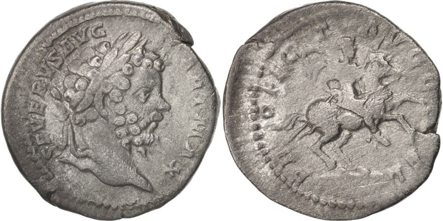 Ancient Coins - Septimius Severus, Denarius, 200, Roma, , Silver, RIC:138