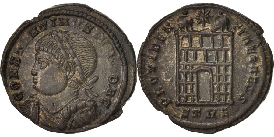 Ancient Coins - Constantine II, Follis, Trier, , Bronze, RIC:505