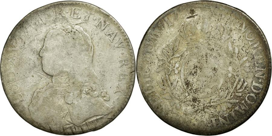 World Coins - Coin, France, Ecu, Rouen, VG(8-10), Silver, Gadoury:321