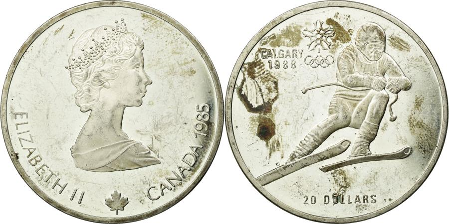 Coin, Canada, Elizabeth II, 20 Dollars, 1990, Royal Canadian Mint, Ottawa