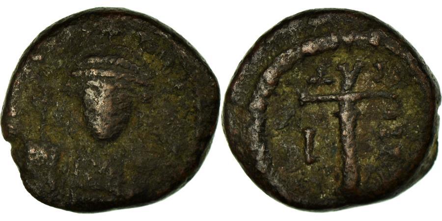 Ancient Coins - Coin, Maurice Tiberius, Decanummium, 582-583, Catania, , Copper