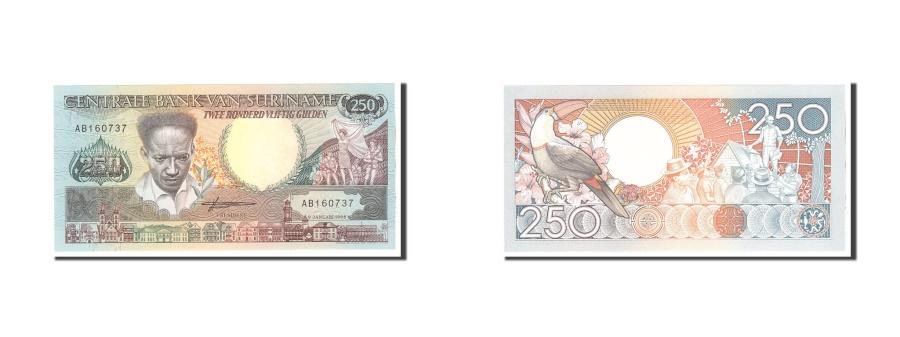 World Coins - Suriname, 250 Gulden, 1988, KM:134, 1988-01-09, UNC(65-70)