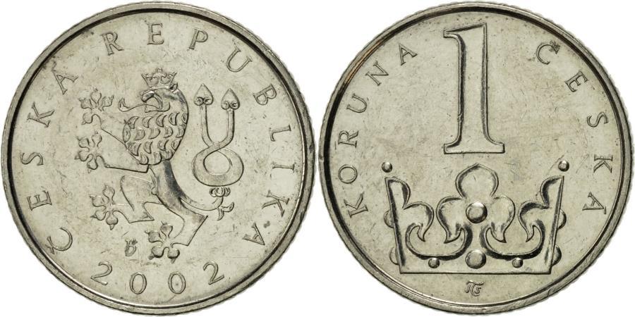 Czech Republic 2007-2 Czech Korun Nickel Plated Steel Coin