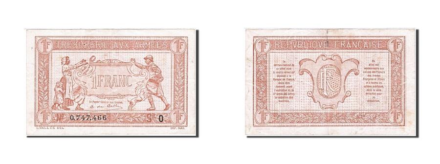 World Coins - France, 1 Franc, 1919, KM:M5, 1919, AU(50-53)