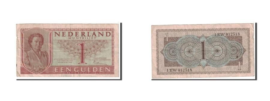 World Coins - Netherlands, 1 Gulden, 1949, KM:72, 1949-08-08, EF(40-45)