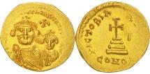 Heraclius, Solidus, 610-641 AD, Constantinople, Gold, Sear:743