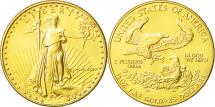 Us Coins - United States, $25, 1/2 Oz, 1986, Philadelphia, MS(65-70), Gold, KM:218