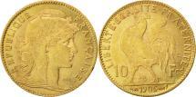 World Coins - France, Marianne, 10 Francs, 1905, Paris, EF(40-45), Gold, KM:846, Gadoury:1017