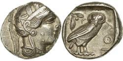 Ancient Coins - Coin, Attica, Tetradrachm, Athens, , Silver, SNG Cop:31, HGC:4-1597