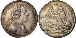 World Coins - France, Token, Louis XV, Chambre aux Deniers, History, 1704, , Silver