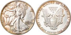 Us Coins - Coin, United States, Dollar, 1987, U.S. Mint, Philadelphia, , Silver