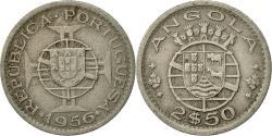 World Coins - Angola, 2-1/2 Escudos, 1956, , Copper-nickel, KM:77