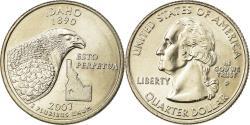 Us Coins - Coin, United States, Idaho, Quarter, 2007, U.S. Mint, Philadelphia,