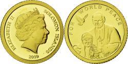Ancient Coins - SOLOMON ISLANDS, 5 Dollars, 2010, CIT, KM #119, , Gold, 11, 0.50