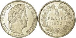 World Coins - Coin, France, Louis-Philippe, 5 Francs, 1833, Nantes, , Silver