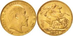 World Coins - Coin, Great Britain, Edward VII, Sovereign, 1907, , Gold, KM:805