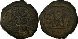 Ancient Coins - Coin, Justin II et Sophie, Follis, 567, Kyzikos, , Copper, Sear:372