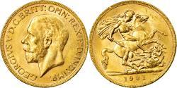World Coins - Coin, Australia, George V, Sovereign, 1931, Perth, , Gold, KM:32