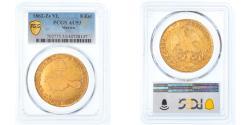 World Coins - Coin, Mexico, 8 Escudos, 1862, Zacatecas, PCGS, AU53, , Gold
