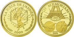 World Coins - France, Medal, Semeuse, En Mémoire de l'Année, 2009, , Gold