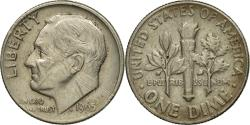 Us Coins - Coin, United States, Roosevelt Dime, Dime, 1965, U.S. Mint, Philadelphia
