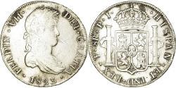 World Coins - Coin, Bolivia, Ferdinand VII, 8 Reales, 1823, Potosi, , Silver, KM:84