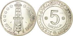 World Coins - Coin, Algeria, 5 Dinars, 1972, Paris, ESSAI, , Silver, KM:E4