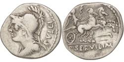 Ancient Coins - Servilia, Denarius, Rome, , Silver, 3.80