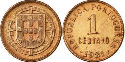 World Coins - Coin, Portugal, Centavo, 1921, , Bronze, KM:565