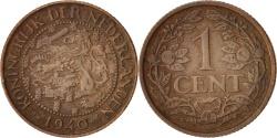 World Coins - Netherlands, Wilhelmina I, Cent, 1940, AU(50-53), Bronze, KM:152
