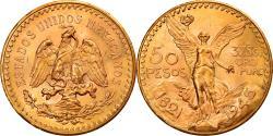 World Coins - Coin, Mexico, 50 Pesos, 1945, Mexico City, , Gold, KM:481