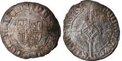 World Coins - Coin, France, Hainaut, Philippe le Bon, Double Denier, Valenciennes,