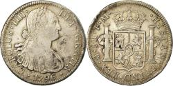 World Coins - Coin, Mexico, Charles IV, 8 Reales, 1796, Mexico City, , Silver, KM:109