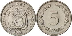 World Coins - Ecuador, 5 Centavos, Cinco, 1946, , Copper-nickel, KM:75b