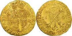 Ancient Coins - Coin, Spanish Netherlands, Flanders, 2 Albertins, 1601, Anvers, , Gold