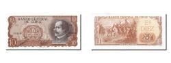 World Coins - Chile, 10 Escudos, KM #143, UNC(65-70), A5 2033216