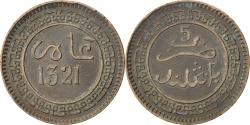 World Coins - MOROCCO, 5 Mazunas, 1903, Birmingham, KM #16.1, , Bronze, 4.83