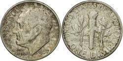 Us Coins - Coin, United States, Roosevelt Dime, Dime, 1957, U.S. Mint, Philadelphia