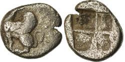 Ancient Coins - Coin, Thrace, Obol, 450-425 BC, Abdera, , Silver, SNG-Cop:312