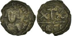 Ancient Coins - Coin, Constans II, Half Follis, 643-647, Carthage, , Copper, Sear:1057
