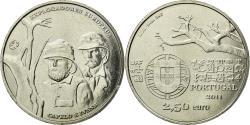 World Coins - Coin, Portugal, European explorers, 2-1/2 Euro, 2011, Lisbon,